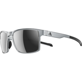 adidas Wayfinder Glasses grey transparent/chrome